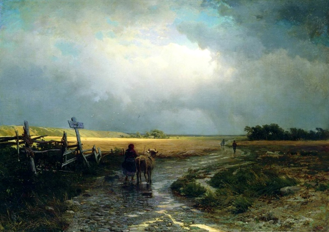 Fedor Vasilev - After the Rain, Country Road.jpg